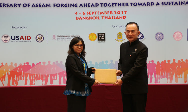 University of Indonesia Student Wins the 4th Annual Youth Debate on Human Rights for ASEAN Countries (State Dept. / USAID)