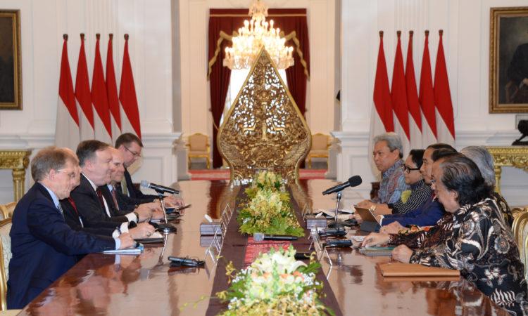 U.S. Secretary of State Michael R. Pompeo Visits Jakarta, Indonesia (State Dept. / Budi Sudarmo and Erik Kurniawan)