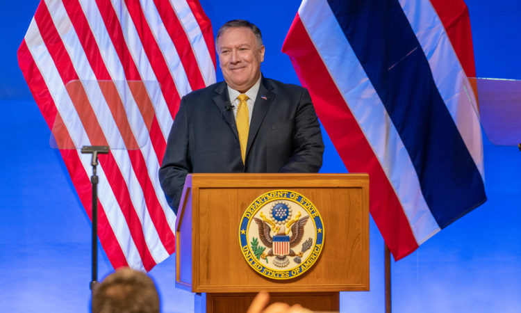 Remarks by Secretary of State Michael R. Pompeo on the U.S. in Asia: Economic Engagement for Good (State Dept.)
