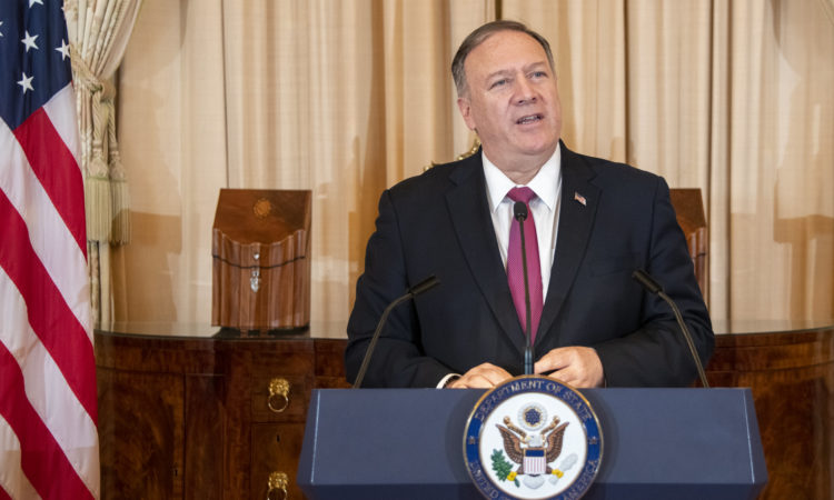 Statement by Secretary Pompeo on International Day for the Elimination of Violence Against Women (State Dept.)