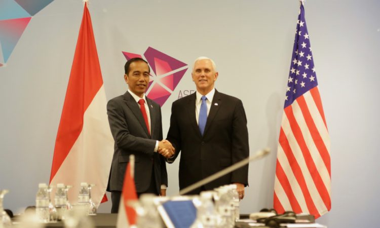Readout of the Vice President's Meeting with President Joko Widodo of Indonesia (State Dept.)