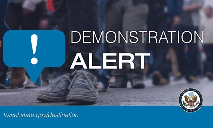 ALERT - Demonstration Alert