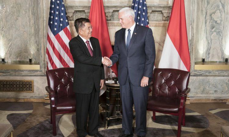 Rangkuman Hasil Pertemuan Wakil Presiden AS dan Wakil Presiden Indonesia Jusuf Kalla (State Dept.)