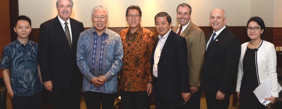 U.S. Indonesian Embassy Press Release for Dairy Trade Mission RoundTable