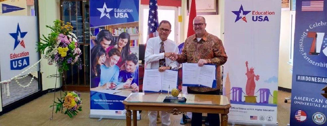 A New EducationUSA Advising Center Opens at American Corner UNAIR