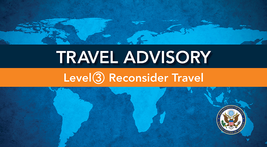 Alert - Travel Advisory_LEVEL 3