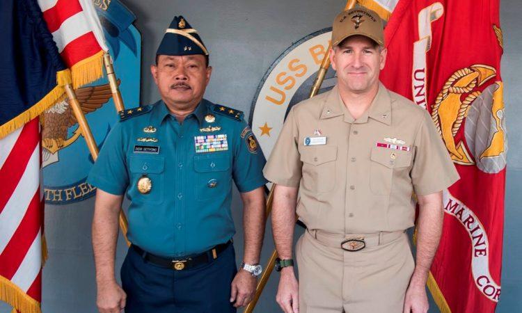 U.S. 7th Fleet Holds Staff Talks and Reinforces Partnership