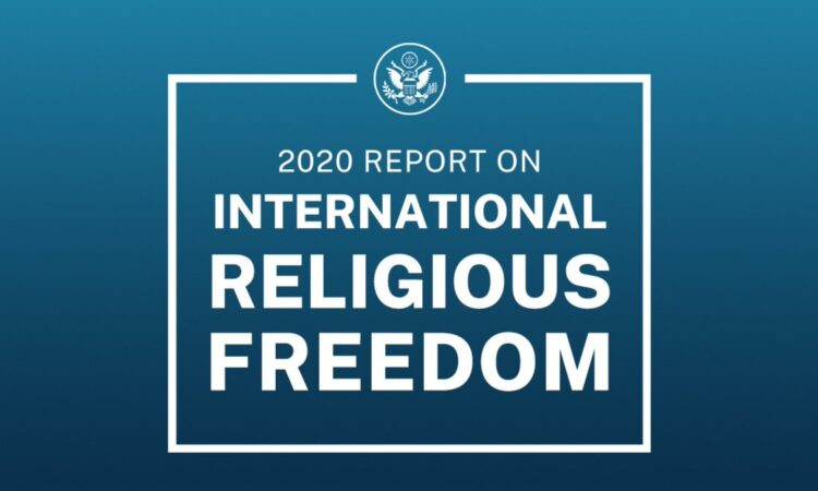 Laporan Kebebasan Beragama Internasional 2020