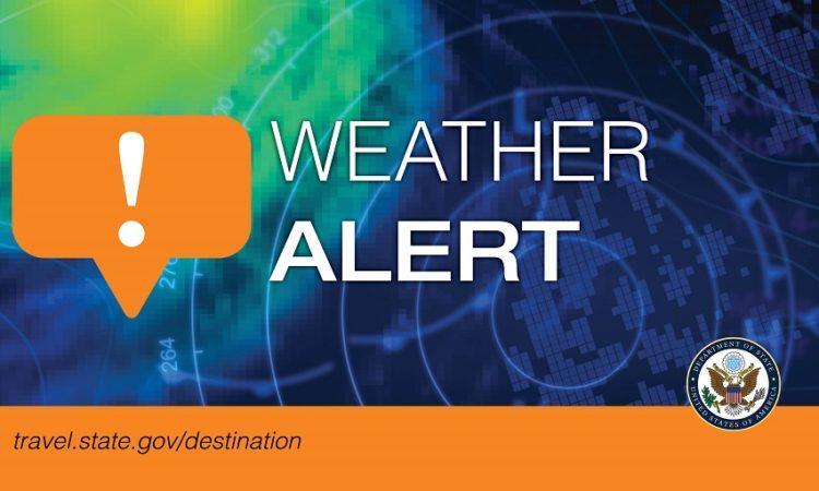 ALERT - Weather Alert