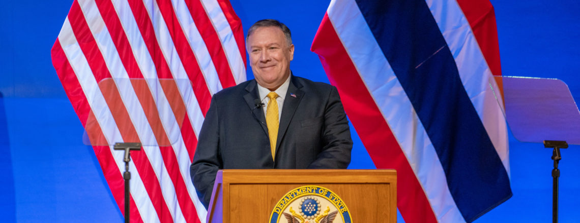 Remarks by Secretary Pompeo on the U.S. in Asia: Economic Engagement for Good