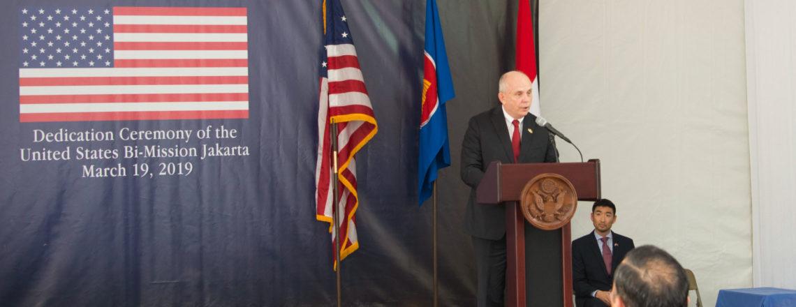 Ambassador Donovan's Remarks at the Dedication Ceremony of the New U.S. Embassy in Jakarta