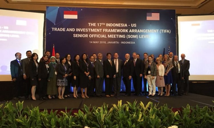 United States and Indonesia Meet Under Trade and Investment Framework Agreement (USTR)