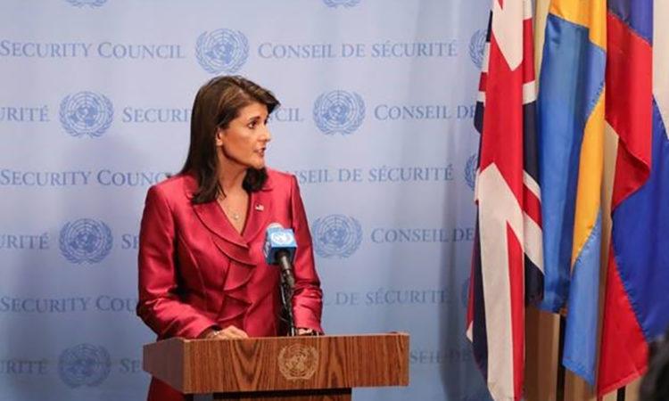 Duta Besar Haley Umumkan Tambahan Bantuan Kemanusiaan untuk Warga yang Terkena Krisis di Negara Bagian Rakhine, Birma (State Dept.)