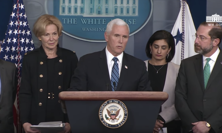 Press Briefing by Vice President Pence and Members of the White House Coronavirus Task Force