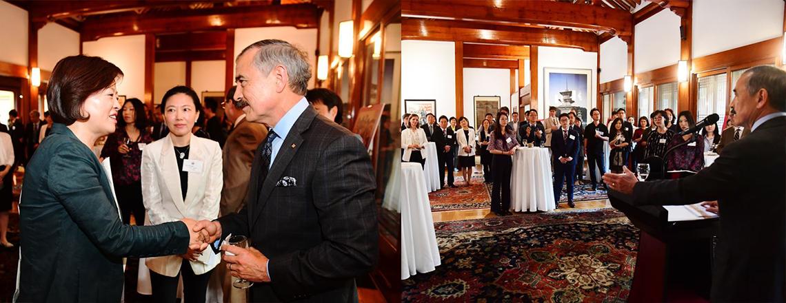 주한미국대사, 미 국무부 교류프로그램 동문들을 위한 총동문회(KUVA)의 새 시대를 축하