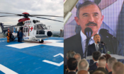 09/06 - Ambassador Harry Harris delivered congratulatory remarks at the dedication ceremony for the Colonel Brian Allgood emergency helicopter launch pad at the Ajou Trauma Center. The Center and USFK (United States Forces Korea) collaborate closely on providing state-of-the-art trauma care.