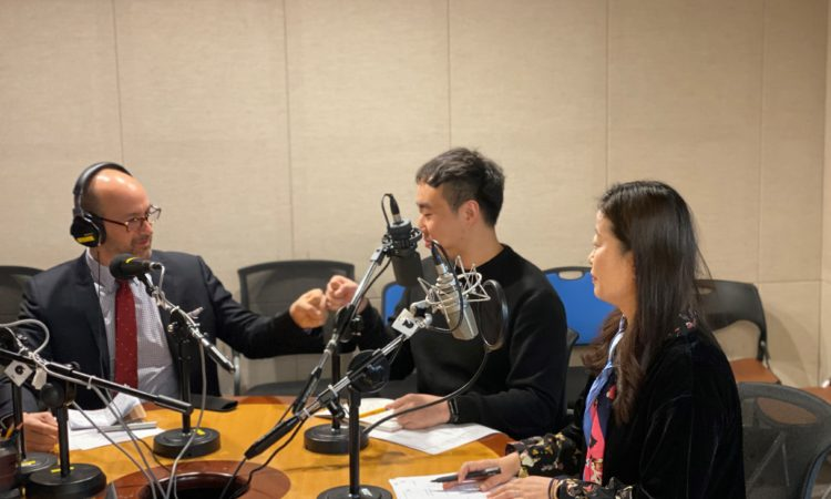 "Consul Discusses the American Entrepreneurial Spirit on Busan eFM's ""Morning Wave in Busan"""
