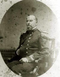 Commodore Robert Shufeldt plays the critical role of establishing a diplomatic presence in the Kingdom of Korea and in negotiating our first bilateral trade treaty in 1882.