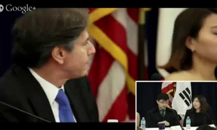 45th Embassy Youth Forum – Real People Talking with U.S. Deputy Secretary of State Antony J. Blinken