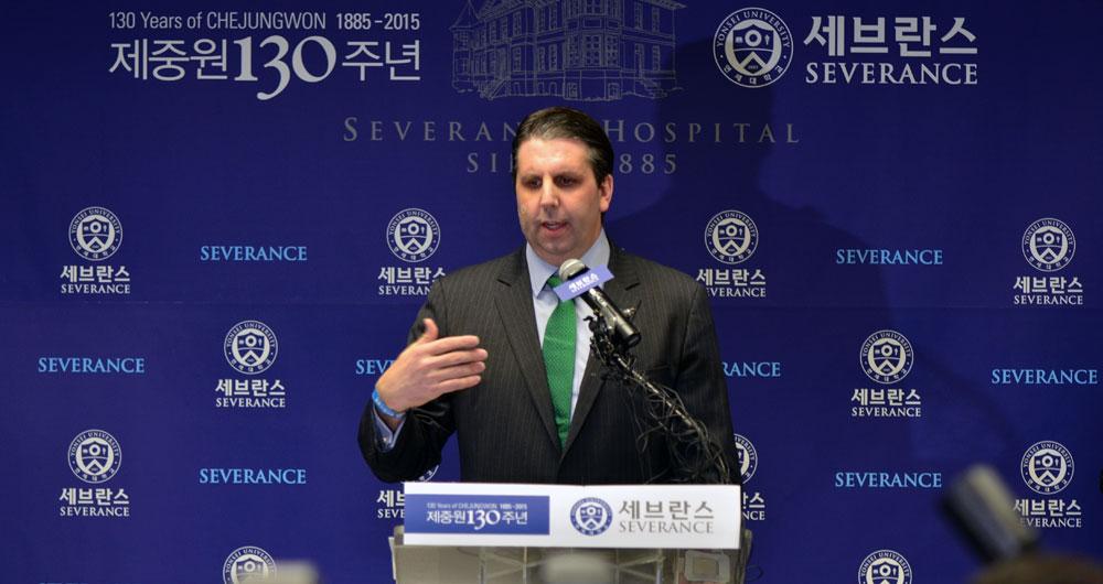 U.S. Ambassador to the Republic of Korea Mark Lippert Statement at Yonsei Severance Hospital