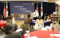 03182016 - American Cinema Evenings: Promised Land U.S. - Embassy Public Affairs Assistant Jason Thornton