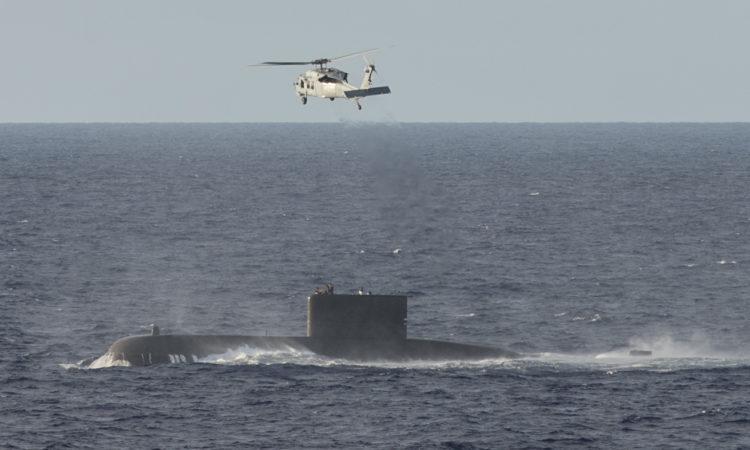 USNS Mercy Conducts MEDEVAC of South Korean Sailor