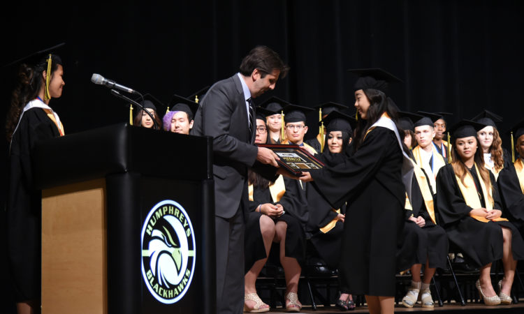 Ambassador Mark W. Lippert Commencement Address, Humphreys High School June 9, 2016