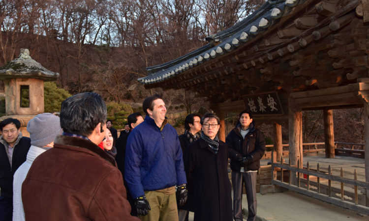 January 20, 2016 - Ambassador Mark Lippert visits Yeongju, Gyeongbuk for his 1st trip in 2016.