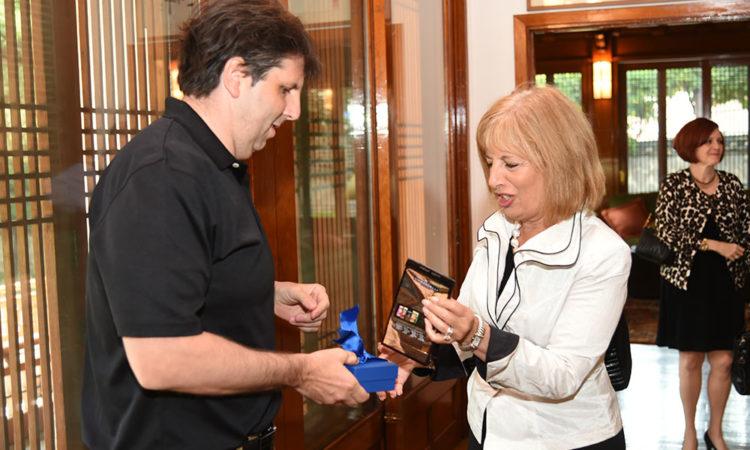 Ambassador Meets Representative Speier