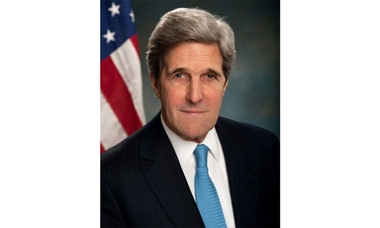 Secretary of State John F. Kerry