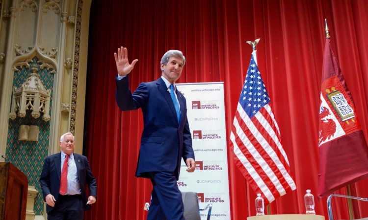 Remarks by Secretary Kerry With Students at the University of Chicago's Institute of Politics