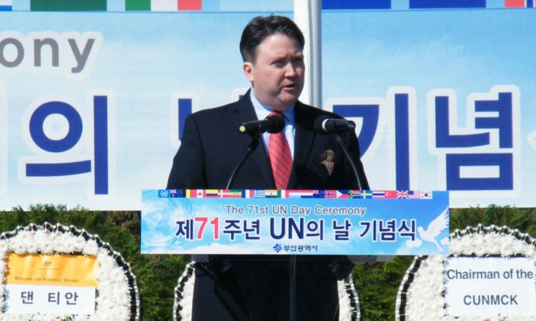 UN Day Ceremony at UNMCK
