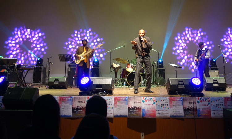 """Ty Stephens and the Souljaazz"" Sizzles, Dazzles Crowds in Busan"