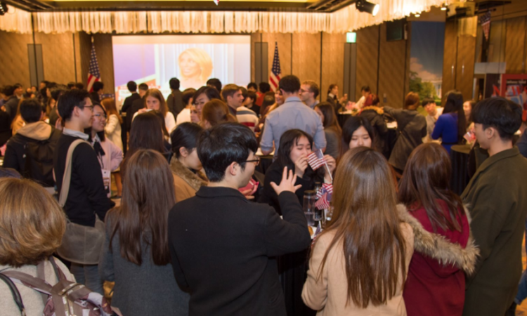 U.S. Embassy, Seoul Hosts the 2016 U.S. Presidential Election Watch Event