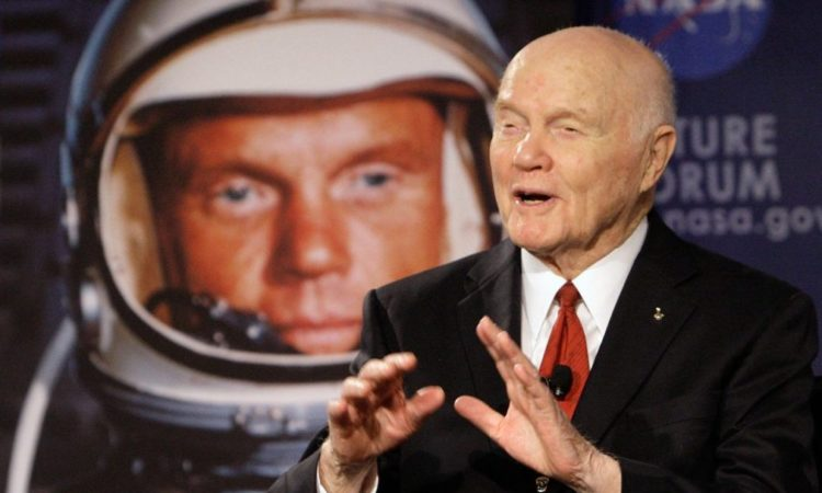 John Glenn, the first American in orbit, has died at 95