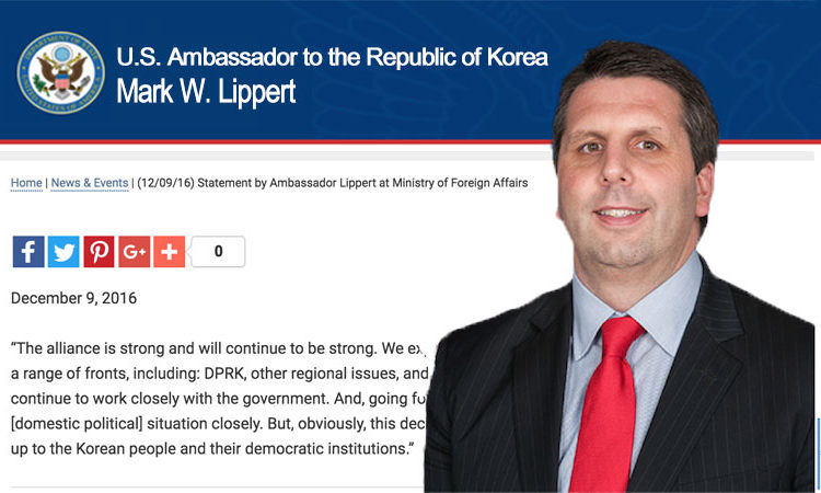 (12/09/16) Statement by Ambassador Lippert at Ministry of Foreign Affairs