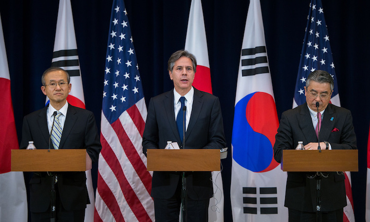 Joint Press Availability with Japanese Vice Foreign Minister Shinsuke Sugiyama and Republic of Korea First Vice Foreign Minister Lim Sung-nam