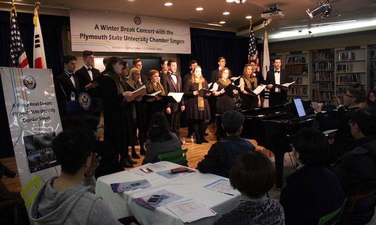 A Winter Concert by the Plymouth State University Chamber Singers