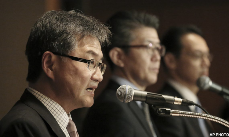 Kim Hong-kyun, Joseph Yun, Kenji Kanasugi -