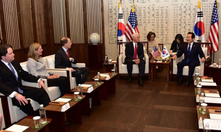 eadout of the Vice President's Meeting with Speaker of the National Assembly Chung Sye-Kyun