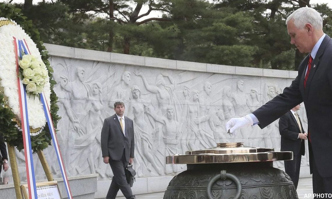 Photo Gallery Vice President Mike Pence Pay Respects To Veterans At Seoul National Cemetery U S Embassy Consulate In The Republic Of Korea