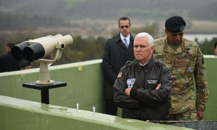 Vice President Pence Visits the Demilitarized Zone (DMZ)