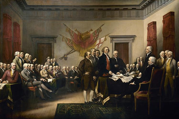 독립 전쟁과 건국 (1770년부터 1800년대까지)