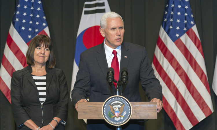 CDA Blog #7 – Vice President Mike Pence in Korea