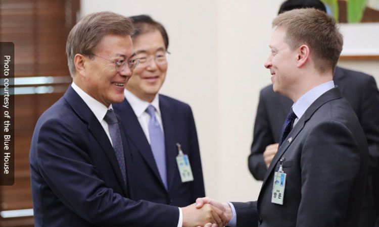 Blog #8: Congratulations, President Moon!