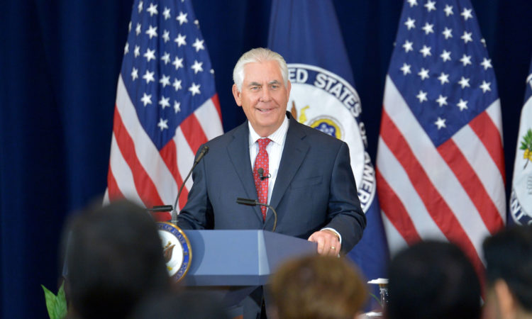Secretary Tillerson Addresses State Department Employees in Washington