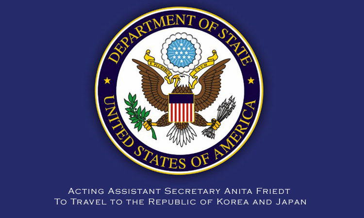 Acting Assistant Secretary Anita Friedt To Travel to the Republic of Korea and Japan (AP Photo)