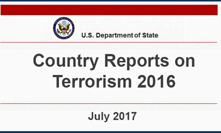 State Department Releases Country Reports on Terrorism 2016