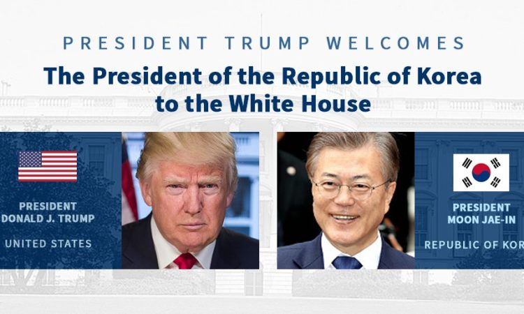 President Trump Welcomes President Moon to the White House