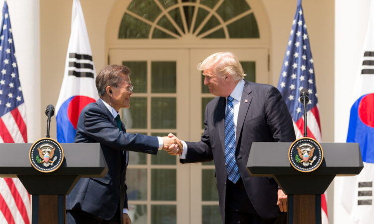 President Trump and President Moon
